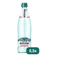 Вода минеральная газированная Боржоми 0,5л