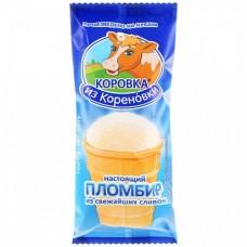 Мороженое пломбир в вафельном стаканчике Коровка из Кореновки 100 гр