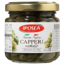 Капперсы Occhiello в уксусе Iposea 95 гр