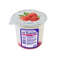Йогурт деревенский  МАЛИНА из Талицы 130 гр 8,0%