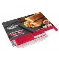 Блины с мясом замороженные С пылу с Жару 360 гр